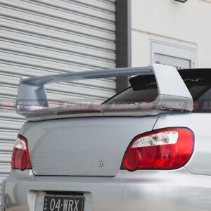 ST Style Trunk Wing Spoiler For 2001-2007 Subaru Impreza WRX/STI S (SILVER 01G)