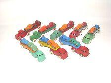 8 VINTAGE BARCLAY CAR TRANSPORTS, 1932-1965, OLD TOY CARS & TRUCKS,SLUSH LEAD