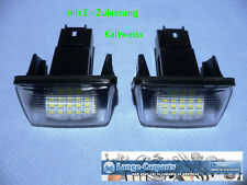 LED SMD Kennzeichenbeleuchtung Peugeot 206 207 307 406 407 5008 Partner