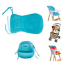 Baby Cushion Pad Stroller Support Liner 2 Strips Harness Car High Chair Seat Mat
