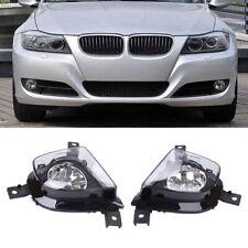 Pair Fog Driving Light Lamp For BMW 3-Series E90 E91 4D 325i 328i 2009-2011 RS