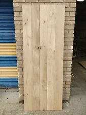 Solid Tavern Grade Oak 3 Ledged Cottage Barn Door Bead & Butt Joint