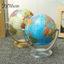 Earth Globe World Map Rotating Classroom Geography Kids Education Desktop Decor