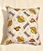 Lakers Pillow Los Angeles Lakers Pillow NBA LA Lakers 2020 Design Handmade USA