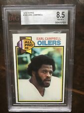 1979 Topps Earl Campbell Rookie BVG 8.5
