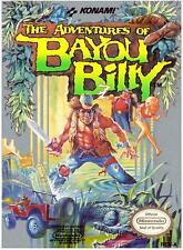 Retro Nintendo NES Game The Adventures Of Bayou Billy - Used