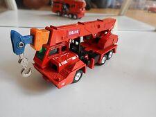 Tomica Dandy Nissan Diesel Truck Crane in Orange on 1:80