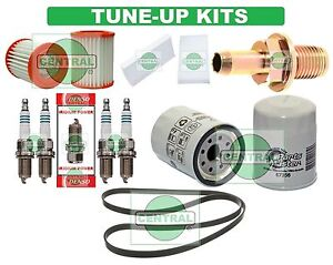 TUNE UP KITS 03-06 HONDA ELEMENT: BELT SPARK PLUG; PCV, AIR, CABIN & OIL FILTERS