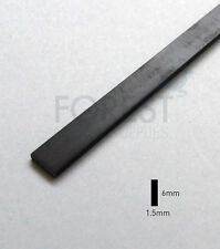 Guitar Binding material black ABS plastic 6 x 1.5mm