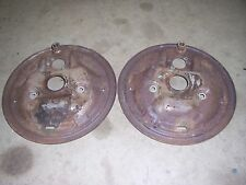 1969 1970 Buick Lesabre Wildcat front brake shoe backing plate set spindle parts