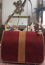 Coach Transatlantic Red Nylon Business Laptop Diaper Cross-body Bag 6437