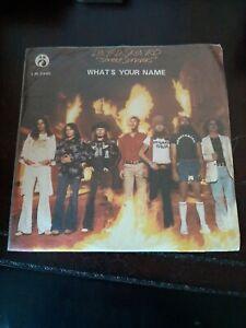 Record Album LP Lynyrd Skynyrd Street Survivors Rare Taiwan Flame Cover VG