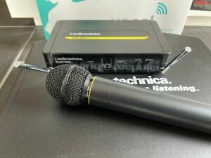 AUDIO TECHNICA Wireless Microphone Set 700 Serie Funkmikrofon neu!
