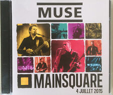 "MUSE ""LIVE MAINSQUARE FESTIVAL ARRAS 04.07.2015"" RARE DOUBLE CD !"