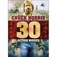 30 Action Movies DVD Box Set Chuck Norris, Bruce Lee, Steven Seagal