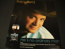 TRACY BYRD He's No Ordinary Man 1997 PROMO POSTER AD mint condition