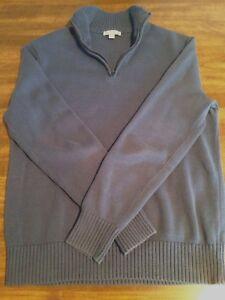 Mens GAP Quarterzip Pullover Sweater - Small