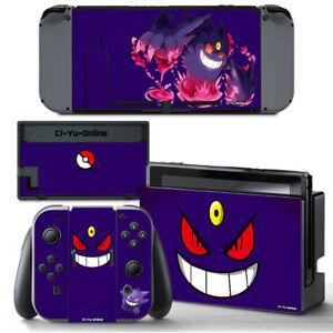 Ci-Yu-Online [NS] Pokemon Mega Gengar #1 VINYL SKIN STICKER for Nintendo Switch