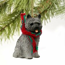 Cairn Terrier Gray Original Ornament