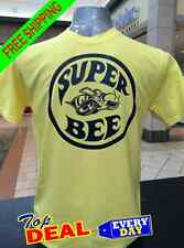Super Bee Vintage Muscle Car T-shirt Yellow