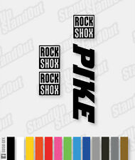 RockShox PIKE Decals / Stickers - Solid Version - Custom / Fluorescent Colours