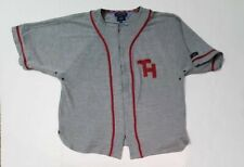 Vintage 90s Tommy Hilfiger Jeans Full Zip Baseball Jersey Mens Xl Spell Out
