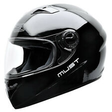 Casco moto integral NZI MUST II BLACK talla S