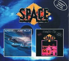 SPACE-JUST BLUE/magic fly (1977) Package numérique Edition CD