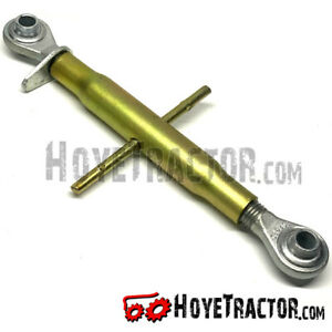 """3-Point Hitch Top Link for Kubota & Iseki Tractors, HARD TO FIND LENGTH, 9"""" Body"""