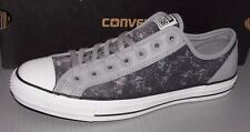 """CONVERSE """"CHUCK TAYLOR"""" CT OVERLAY OX in colors SMOKE GRAY MENS 12 WOMENS 14"""