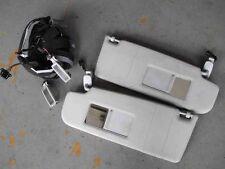 Sonnenblenden VW Golf 4 Bora Blenden hellgrau BELEUCHTET Make Up Spiegel