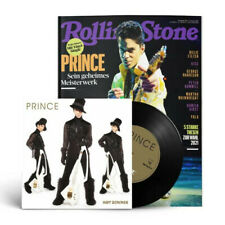 Rolling Stone 2021/08 PRINCE Magazine + VINYL SINGLE Germany RARE FOR COLLECTORS