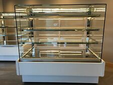 cake display fridge/square/1.4m long /led lights/top model/super look top model