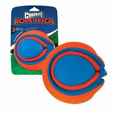 Chuckit! Rope Fetch Kick Throw Tug Durable 16cm Play Ball Toy Fun for Dogs