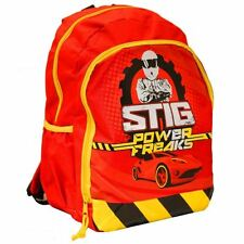 Top Gear® Official Kids School Travel Backpack Bag BBC TV Show Official