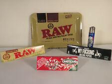 *New* Raw  Metal Rolling Tray Trips Bundle *Free US Shipping*