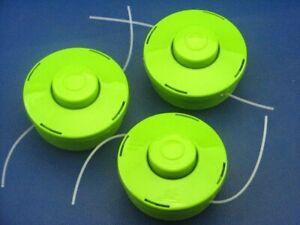 3x Fadenspule für Zipper ZI-MOS145G Motorsense
