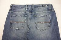 Lucky Brand Logan Capris Women's 4 27 Jeans Blue Denim Classic Rider Crop