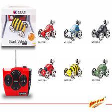 Mini RC Radio Control 360° Wheelie Stunt Vehicle Micro Racing Car Toy