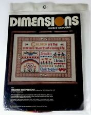 Dimensions 3021 Children Are Precious Counted Cross Stitch Kit Brandywine Art 80