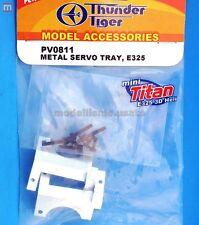 Thunder Tiger PV0811 Porta Servo Titan E325 Metal Servo Tray modellismo