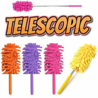 Telescopic Extendable Magic Microfibre Cleaning Feather Duster Extending Brush