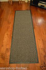 Large Small Kitchen Heavy Duty Barrier Mat Non Slip Rubber Back Door Rugs Dirt Beige/black 60 X 180cm Runner