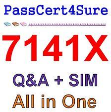 Avaya Equinox Solution with Avaya Aura Collaboration App 7141X Exam Q&A PDF+SIM