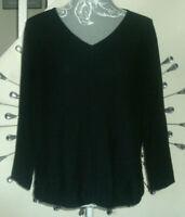 Hobbs 100% Merino Wool Ladies Jumper Sweater Size S
