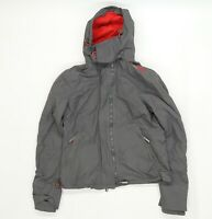 Superdry Mens Grey   Rain Coat Jacket Size M