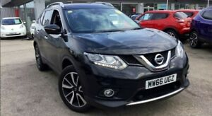 Nissan X TRAIL BREAKING PARTS front end.