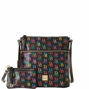 Dooney & Bourke DB75 Multi Crossbody Medium Wristlet Shoulder Bag