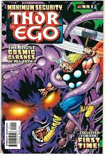 "Maximum Security: Thor vs. Ego (2000) VF/NM-NM  Lee - Kirby Reprints ""Thor"""
