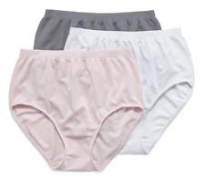 Jockey Comfies 3 Pair Microfibre Brief Panty  Size 7 (XL)